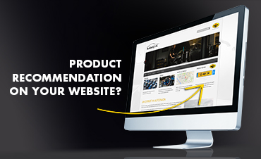 Recommendation banner on your website?